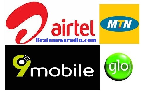 MTN, Airtel, Glo And 9mobile