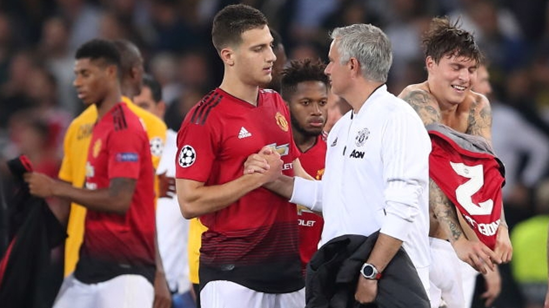 Mourinho, One Of The Best Coaches Ever - Diogo Dalot