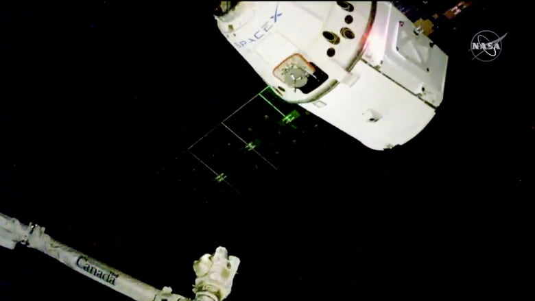 SpaceX Christmas Delivery Arrives At International Space Station