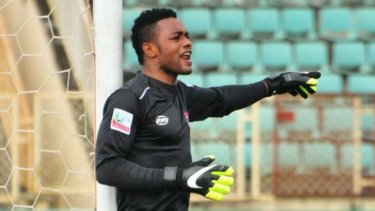 Akwa United Goalkeeper Hands Team Defeat In Style