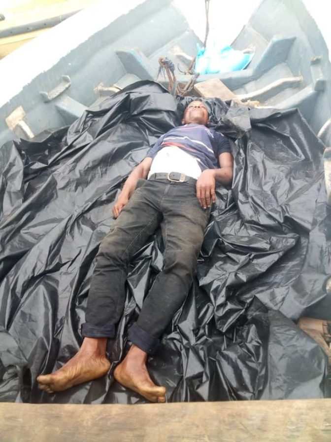 Thugs Killed Man In Akwa Ibom, Dumped Corpse In A Boat