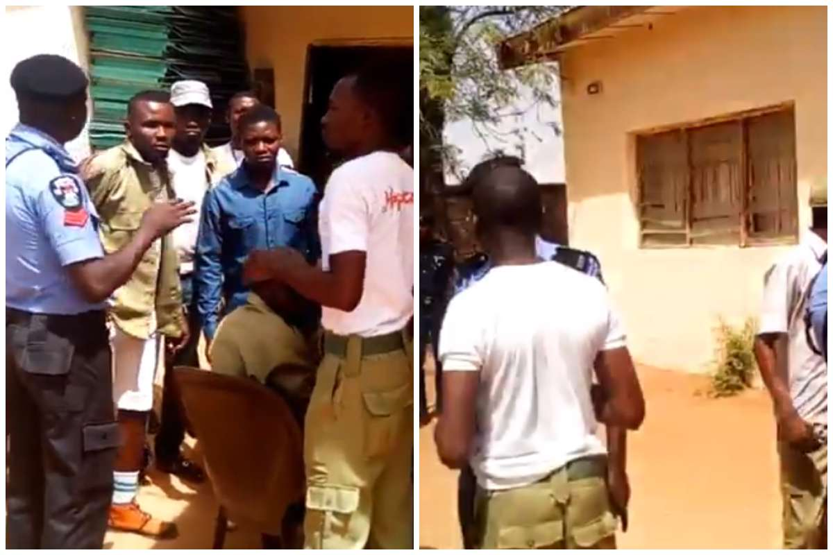 Corpers Protest Non-Payment Of INEC Allowances In Sokoto