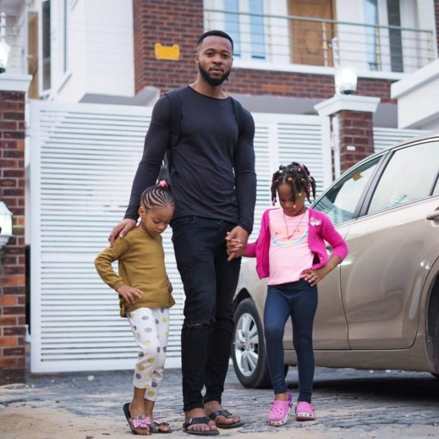 Lovely Photos Of Flavour And His Kids