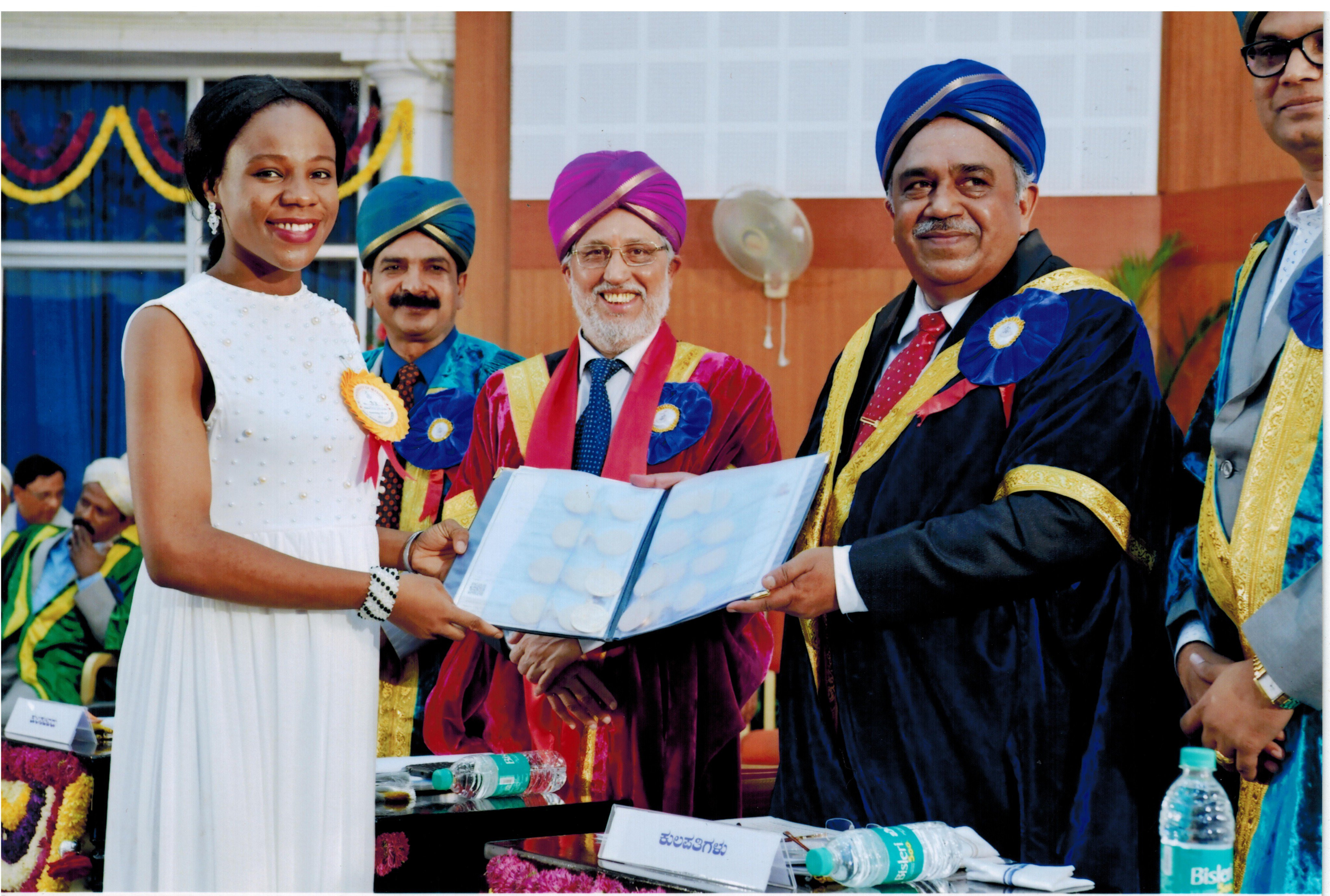 Indian Govt Extends Scholarship For Nigerian Lady Who Broke 100-year University Record