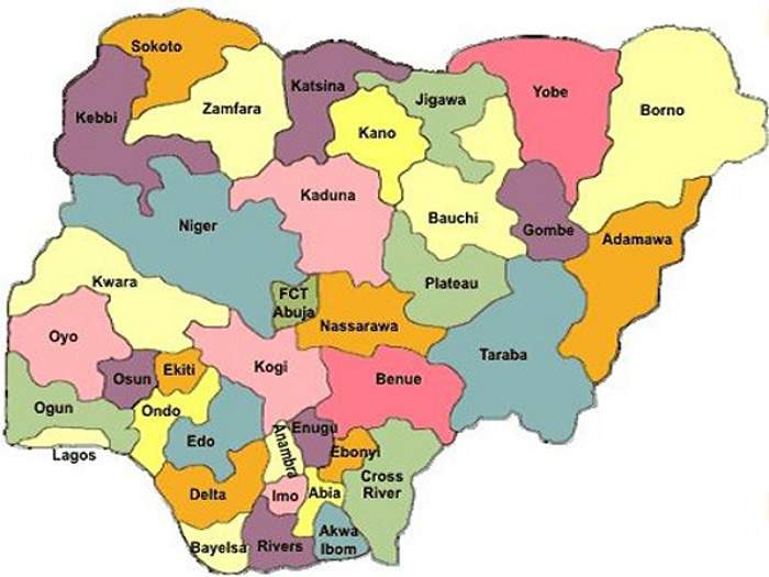 Debt Profile Of The 36 States In Nigeria As At December 2018