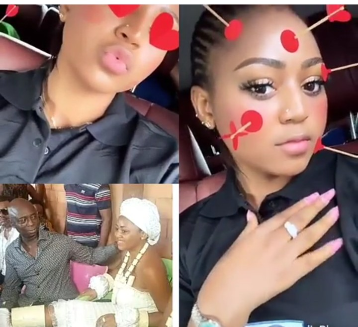 The Moment Regina Daniels Flaunted Her Engagement Ring
