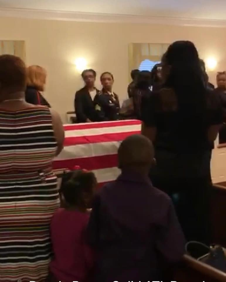 Burial Photos Of Kennedy Ovabore AKA Hungerbad