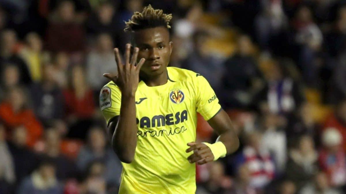 Samuel Chukwueze reveals his favourite club in Europe
