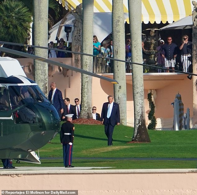 After Iran Put Out $80m Hit On Donald Trump, Secret Service Adds Four Checkpoints To Examine Vehicles For Explosives And Search Guests For Weapons In Mar-a-Lago