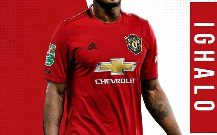 Manchester United Unveils Ighalo's Shirt Number