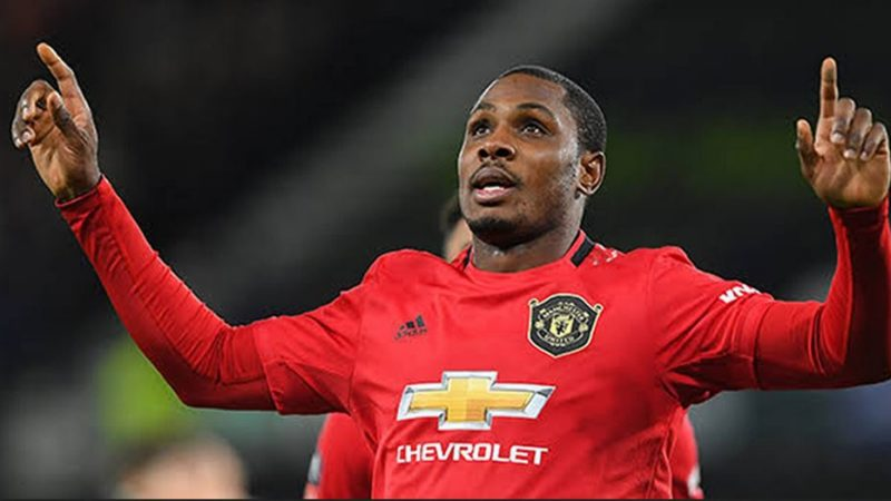 Ighalo Reveals How He Used To Spend His Lunch Money Just To Watch Manchester United