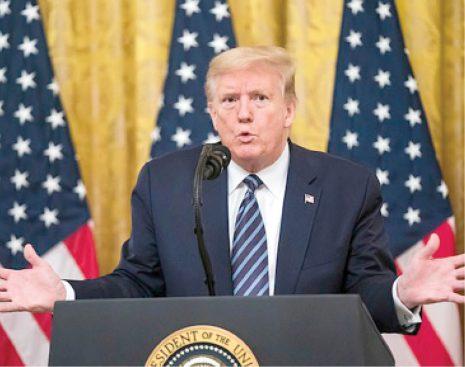 President Trump Backtracks On Crapping Of White House Coronavirus Task Force