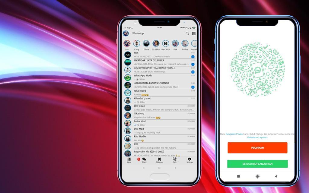 WhatsApp Aero Android 8.22