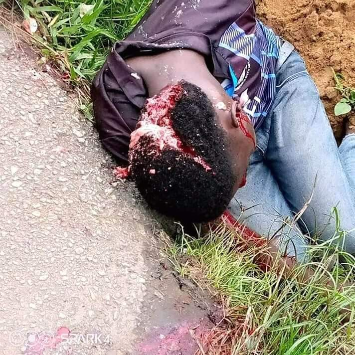 Bakassi Youths Protest Alleged Killing Of Their Colleague By NSCDC Personnel