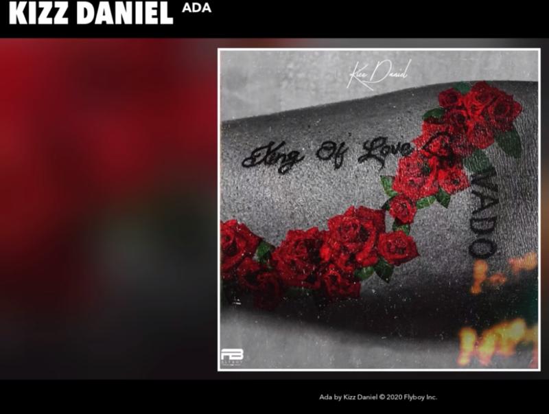 Kizz Daniel – Ada