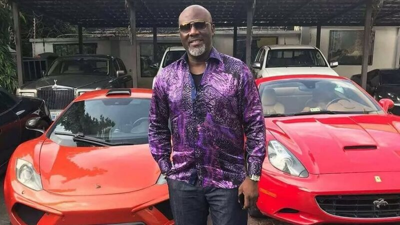 Senator Dino Melaye Shows Off His Beautiful Family
